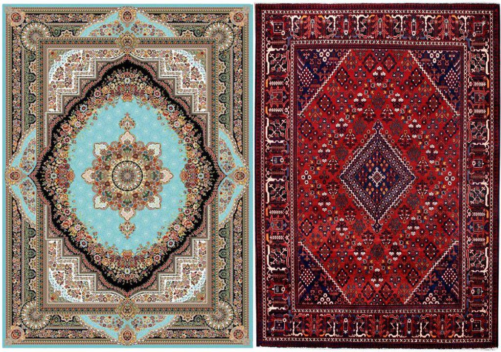 تشخیص فرش دستباف از فرش ماشینی