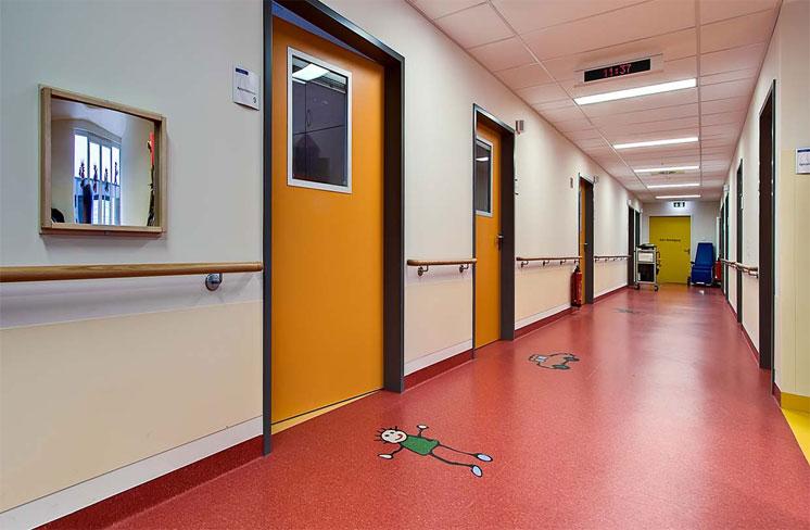 کفپوش پی وی سی برای بیمارستان