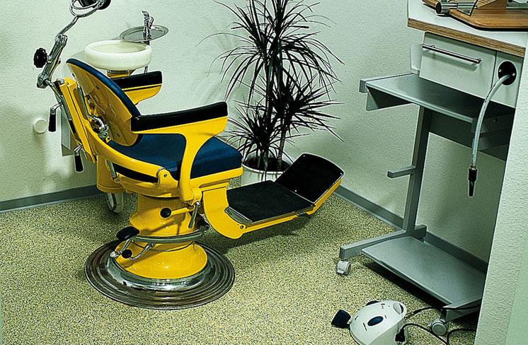 کفپوش مطب دندان پزشکی