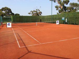 زمین رُسی مخصوص تنیس