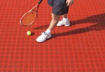 بهترین کفپوش زمین تنیس