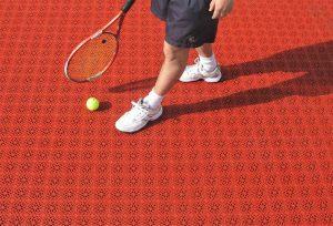 کفپوش تنیس