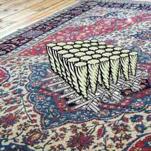 تراکم گره ها در فرش