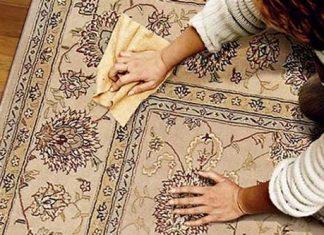 نظافت فرش های دست بافت