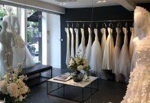 دکوراسیون در مغازه لباس عروس