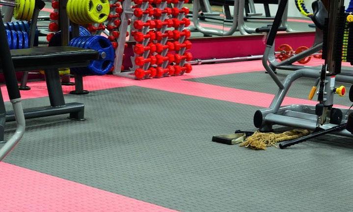 کفپوش کلیک تایل چندمنظوره ورزشی