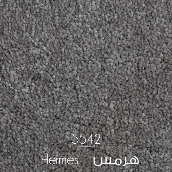 موکت طرح هرمس ظریف مصور رنگ طوسی 5542