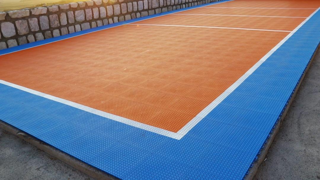 کفپوش زمین والیبال فضای باز