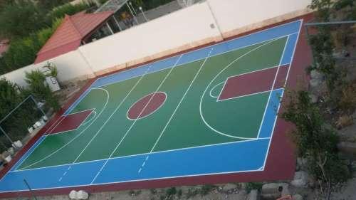 کفپوش زمین والیبال پلی اورتان